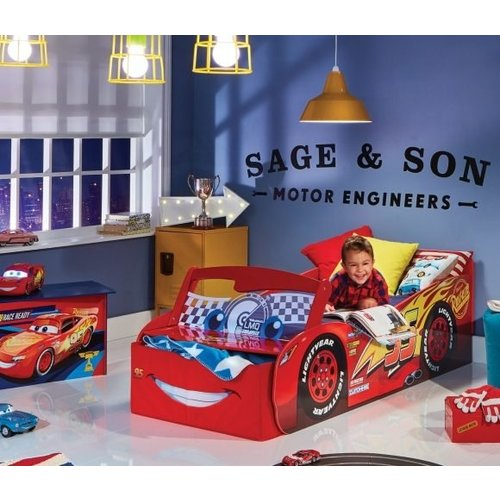 Cars Disney Cars McQueen Autobed met Led - Worlds Apart
