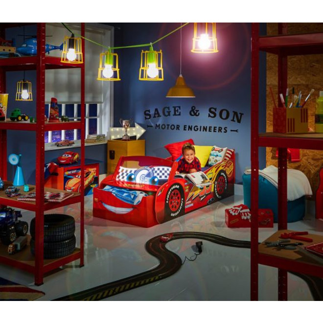 Disney Cars McQueen Autobed met Led - Worlds Apart