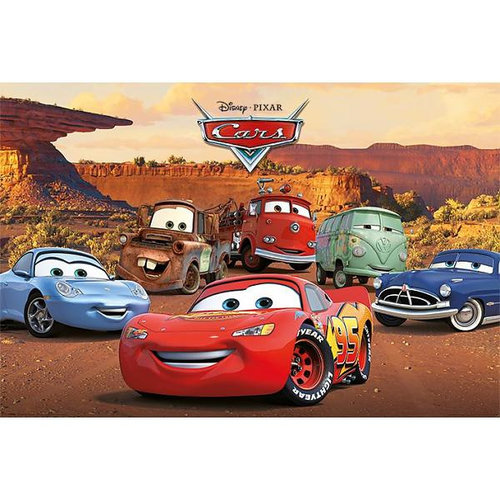 Cars Disney Cars Characters - Maxi Poster