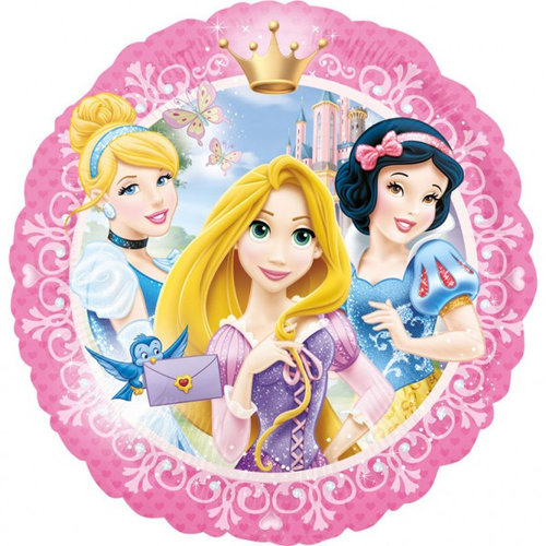 Disney Princess Disney Princess Folie Helium Ballon - Hervulbaar