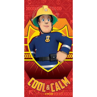 Brandweerman Sam Badlaken / Strandlaken