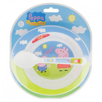 Peppa Pig Kinderservies - Magnetron