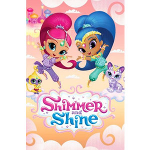 Shimmer and Shine Shimmer en Shine Fleece Deken