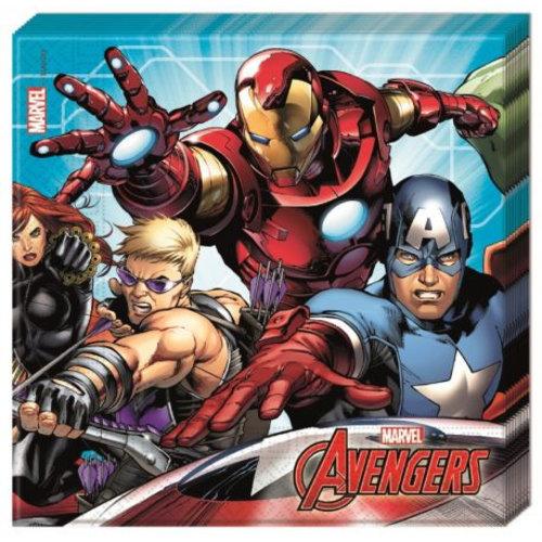 Avengers Avengers Servetten - 20 stuks