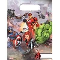 6 Avengers Uitdeelzakjes