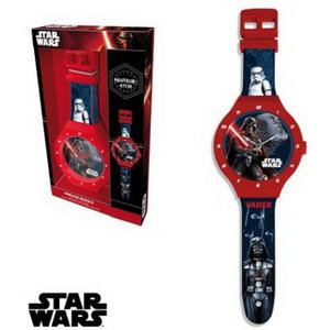 StarWars Star Wars Horloge Wandklok - Darth Vader