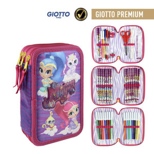 Shimmer and Shine Shimmer en Shine Gevulde Etui - 3 laags
