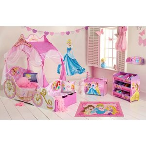 Disney Princess Disney Princess Koetsbed Kinderkamer - 4 delig - WorldsApart