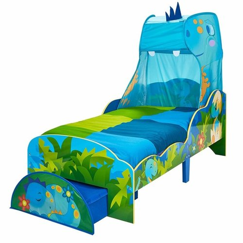 Dinosaurus Dinosaurus Bed met Lade - WorldsApart