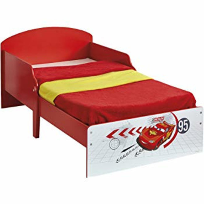 Disney Cars Bed Rood/Wit - Worlds Apart