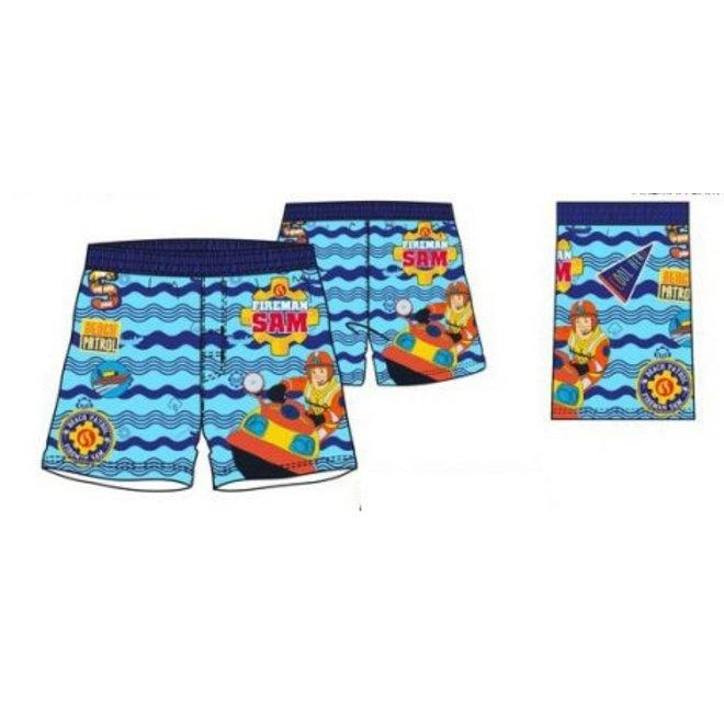 Brandweerman Sam Zwemshort - Blauwe Band