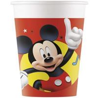 8 Kartonnen Mickey Mouse Bekertjes - Disney