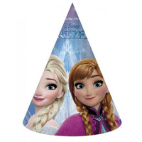 6 Disney Frozen Feesthoedjes - Northern Lights