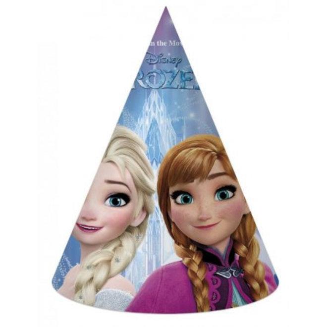 6 Disney Frozen Feesthoedjes - Northern Lights