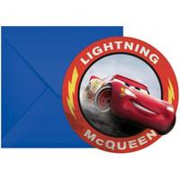 Disney Cars Uitnodigingen Kinderfeestje - Legend