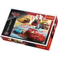 Disney Cars Puzzel - 30 stukjes - Trefl