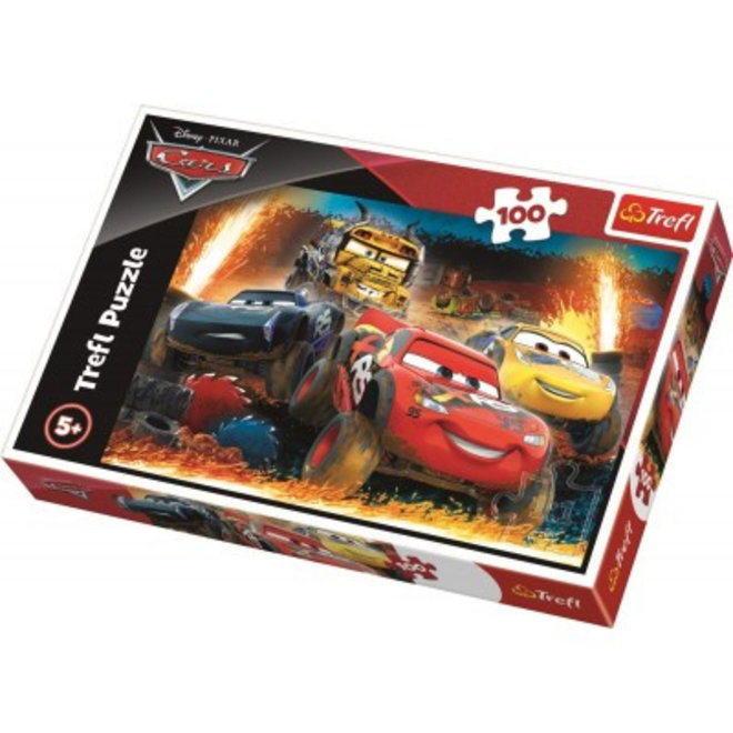 Disney Cars Puzzel - 100 stukjes - Trefl