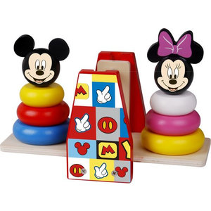 Minnie Mouse Mickey Mouse & Minnie Mouse Houten Disney Balans Stapeltoren