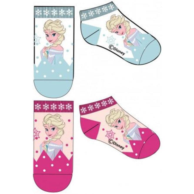 Disney Frozen Elsa Sneakersokken - 1 paar