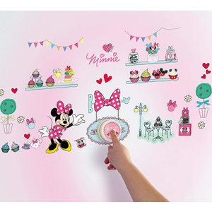 Minnie Mouse Minnie Mouse Deurbel met 40 Muurstickers - WorldsApart