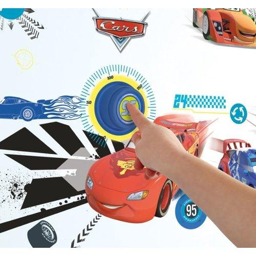 Cars Disney Cars Deurbel met 40 Muurstickers - WorldsApart