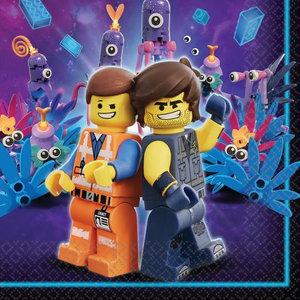 Lego Movie Lego Movie Servetten - 20 stuks
