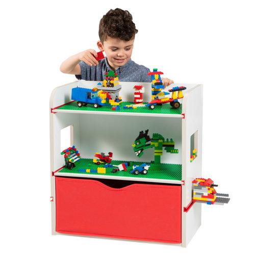 Lego Movie Lego ® Room2Build Boekenrek / Opbergrek / Nachtkastje - WorldsApart