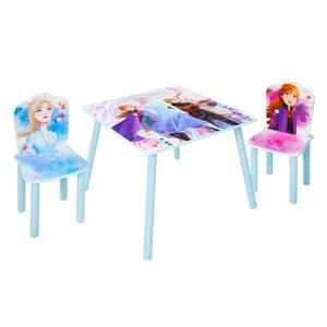 Frozen Disney Frozen Tafel met 2 Stoeltjes - WorldsApart