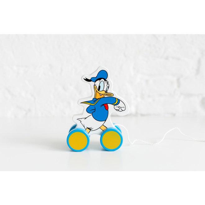 Donald Duck houten Trekfiguur - Disney Baby
