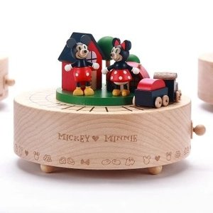 Minnie Mouse Mickey en Minnie Mouse Muziekdoosje / Speeldoosje Trein - Disney