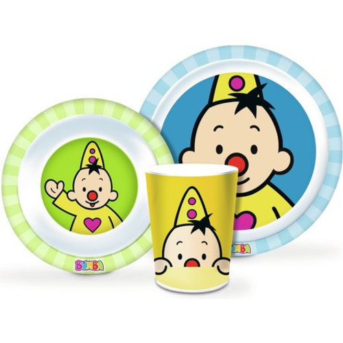 Bumba Bumba Kinderservies - Melamine