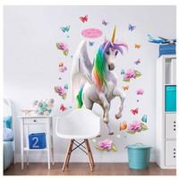 Eenhoorn / Unicorn XXL Muursticker