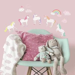 Eenhoorn Eenhoorn / Unicorn Muurstickers - Roommates