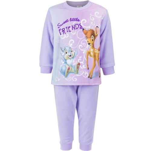 Bambi Bambi Fleece Pyjama Lila - Disney Baby