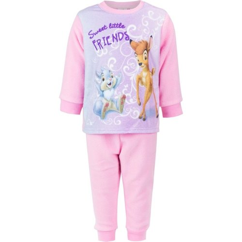 Bambi Bambi Fleece Pyjama Roze - Disney Baby