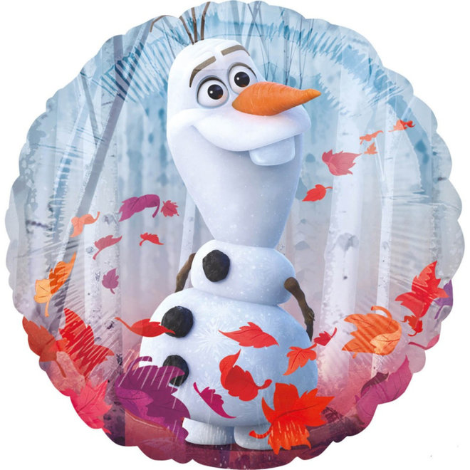 Disney Frozen2 Folie Helium Ballon - Hervulbaar