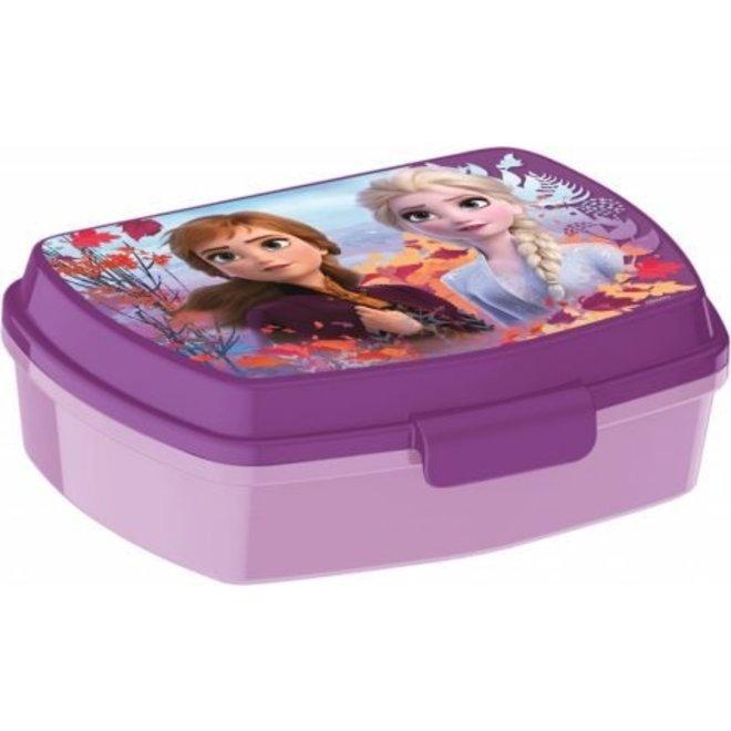 Disney Frozen Broodtrommel - Lila/Paars