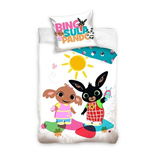 Bing Konijn Bing Konijn Baby Dekbedovertrek 100 x 135 cm - Sunny Day