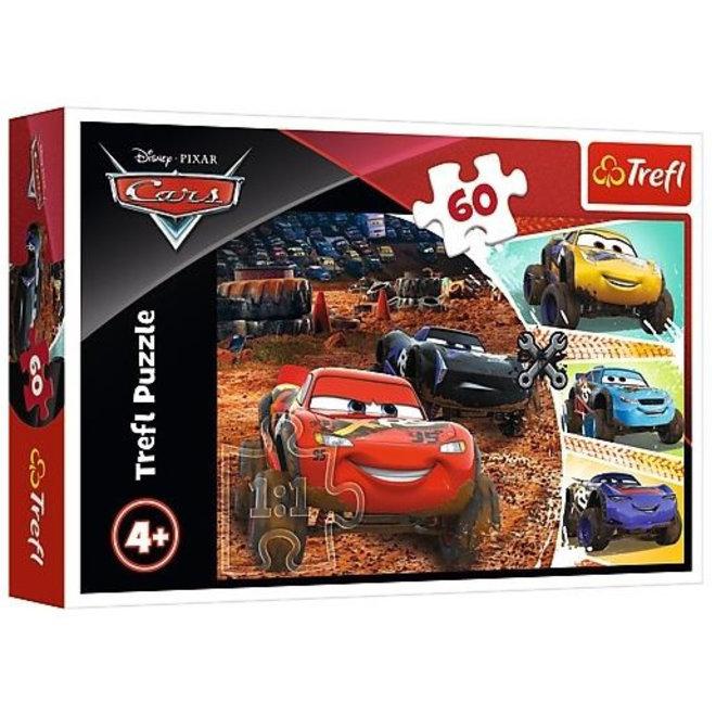 Disney Cars Puzzel - 60 stukjes - Trefl