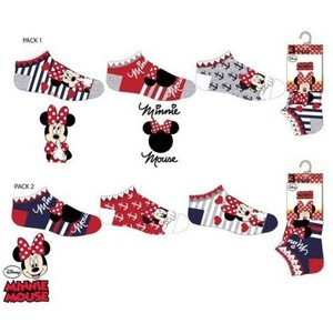 Minnie Mouse Minnie Mouse Sneakersokken - 3 paar