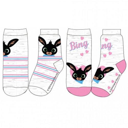 Bing Konijn Bing Konijn Sokken - 2 paar - Meisje