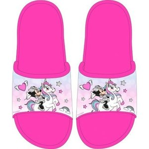 Minnie Mouse Minnie Mouse Badslippers Unicorn - Maat 25 t/m 32