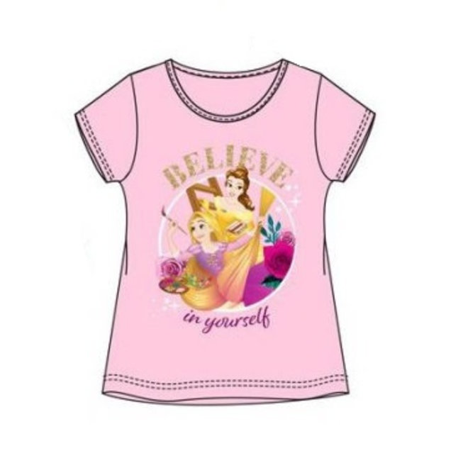 Disney Princess T-shirt - Roze