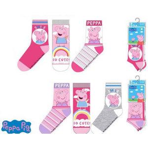 Peppa Pig Peppa Pig Sokken - 3 paar
