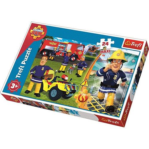Brandweerman Sam Brandweerman Sam Puzzel - 24 Maxi stukjes - Trefl