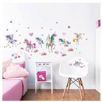 Eenhoorn / Unicorn Room Decor Kit Magical - Walltastic