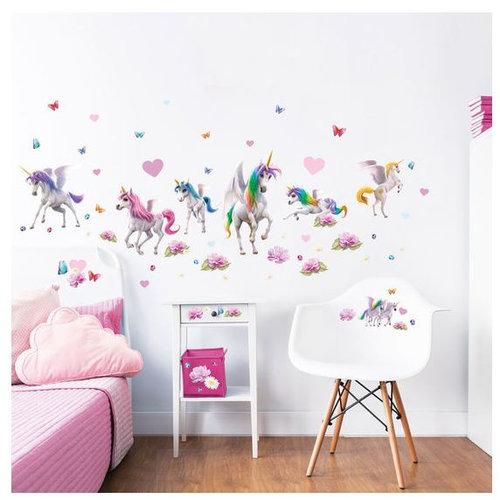 Eenhoorn Eenhoorn / Unicorn Room Decor Kit Magical - Walltastic