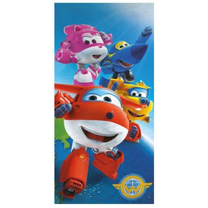Super Wings Super Wings Badlaken / Strandlaken