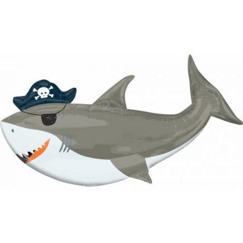 Baby Shark Baby Shark Folie Helium Ballon Haai XXL - Hervulbaar