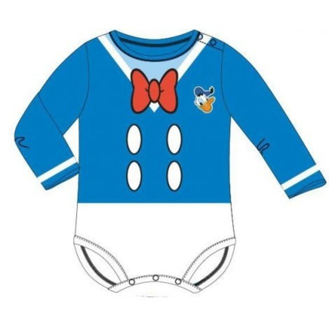 Donald Duck Rompertje Lange Mouw - Disney Baby